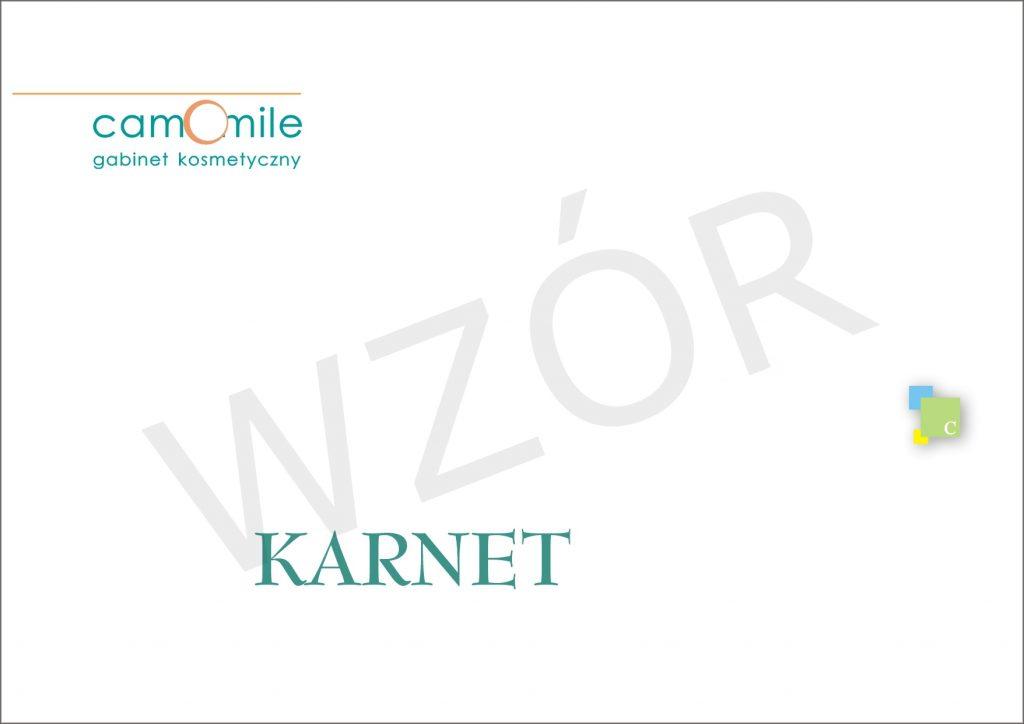Karnet Salon Kosmetyczny Camomile Białystok 2